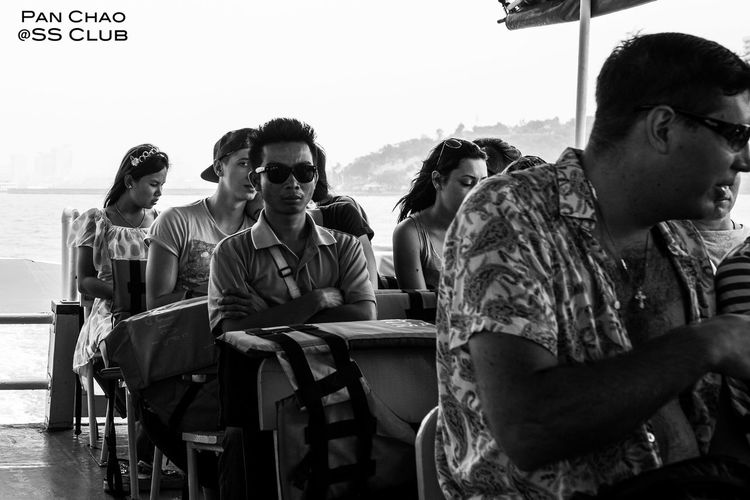 Selective Focus Bangkok Thailand. Beachphotography Restaurant Front View Person Human Figures Photography Happy People Thailand Hello World Bangkok Lensbaby  Documentary Photography Nature Outdoors Focus On Foreground Vacations Lifestyles Khorasan Up Close Street Photography