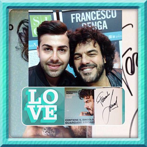 GraziE Francescorenga ☺️ Guardami Amore 😍 Scriverò il Tuo Nome ✍️ Instore 📀 Instore Tour Mondadori Store Marcianise Piazza Campania