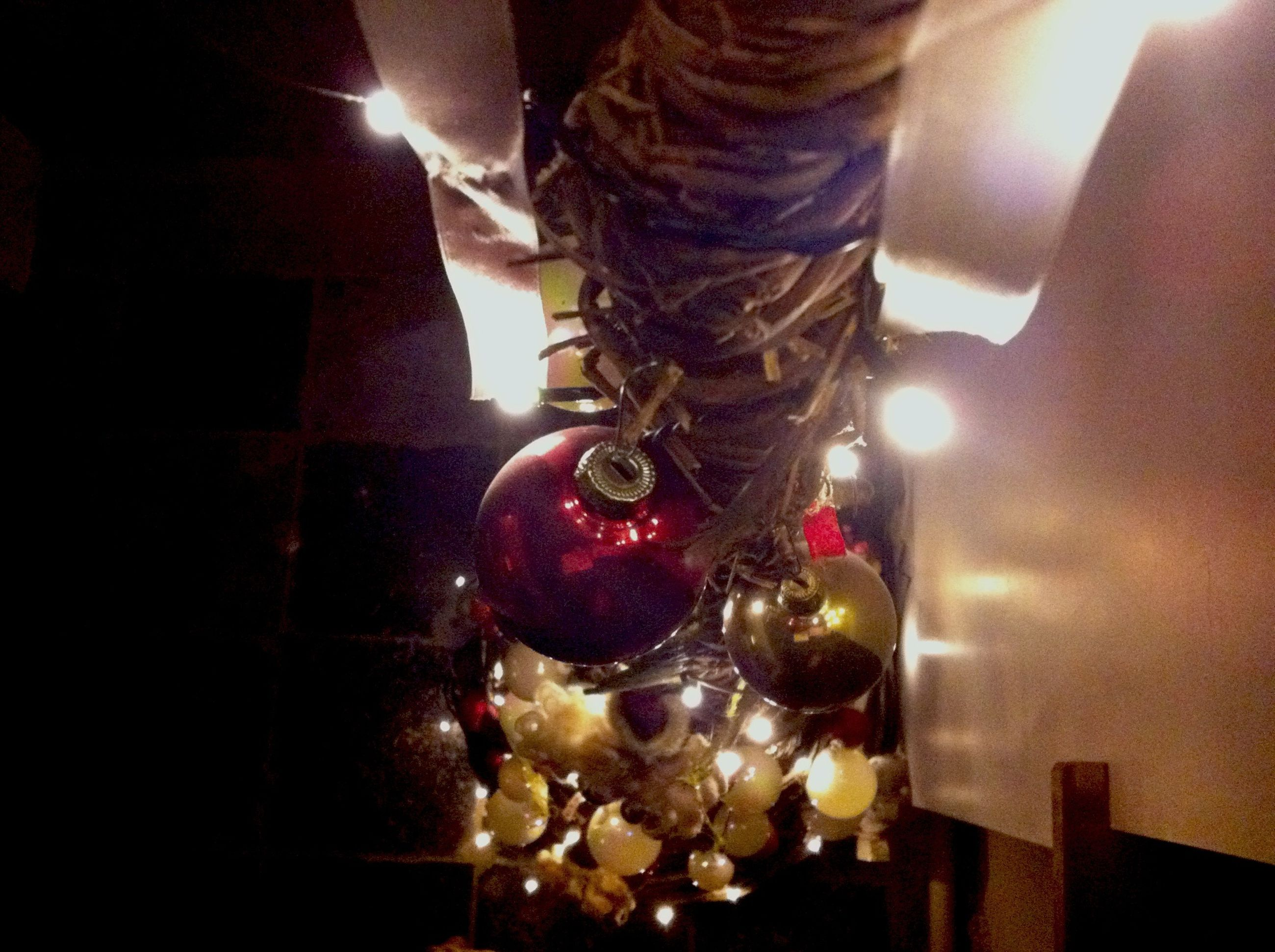 illuminated, indoors, night, lighting equipment, glowing, candle, decoration, burning, celebration, flame, light - natural phenomenon, lit, home interior, hanging, fire - natural phenomenon, tradition, electric light, christmas, table, christmas decoration