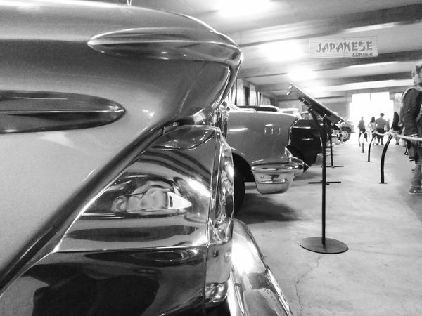 More Old, More shining.. // Taken with phone camera.... Oldstyle Classic Car Oldcars Blackandwhite Photography Japancar