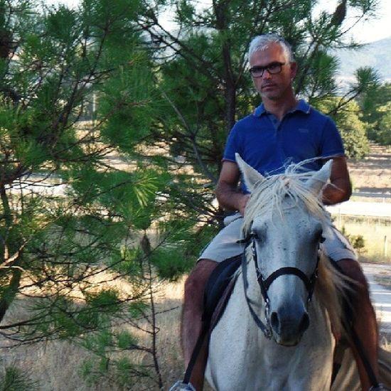 maravilhoso passeio de fim de tarde amazing ride late afternoon [quinta da moreirinha, covilhã] Cavalo Horse Covilha