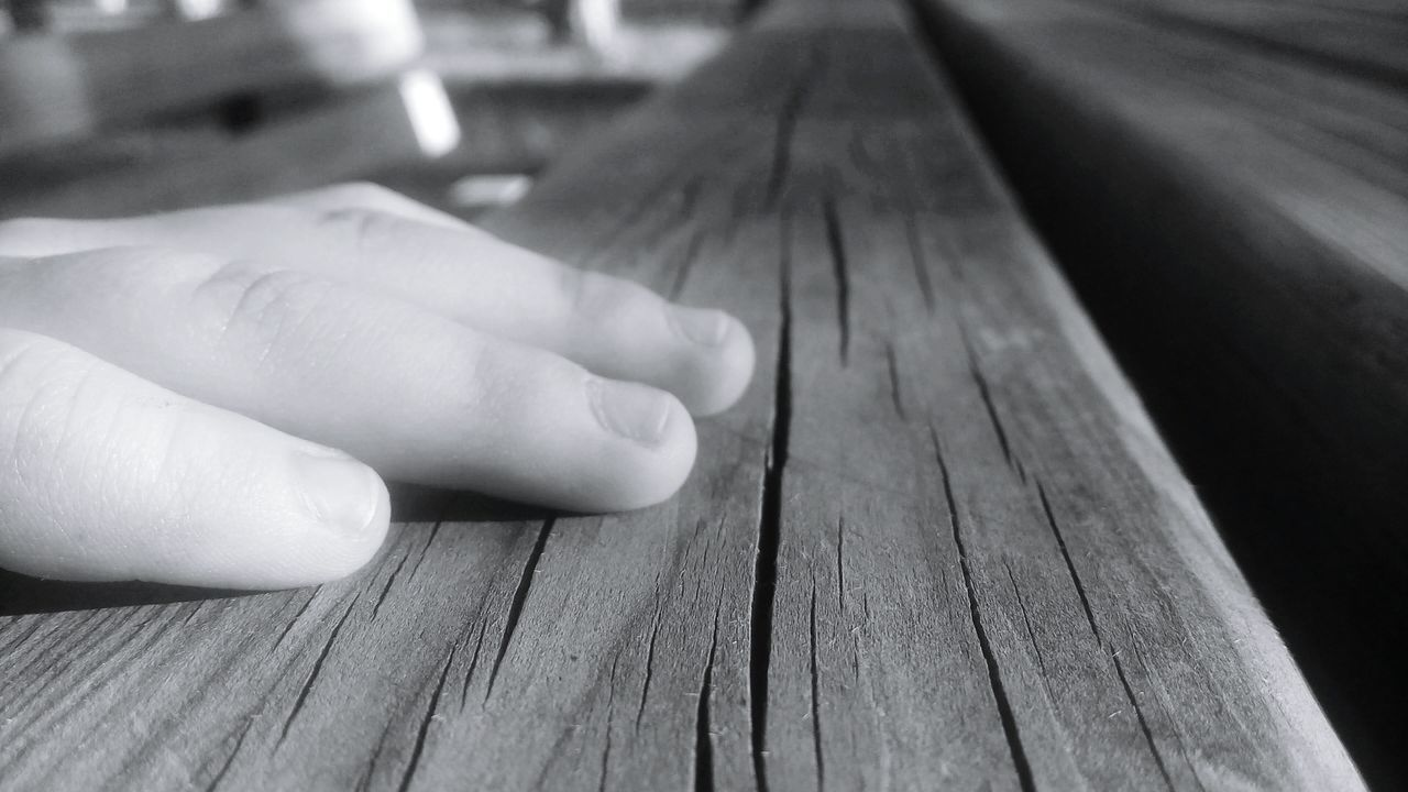 human body part, human hand, wood - material, human finger, one person, close-up, indoors, real people, childhood, day, people