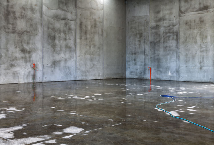 Architecture Industrial Concrete Indoors  Minimalism No People Wet Concrete