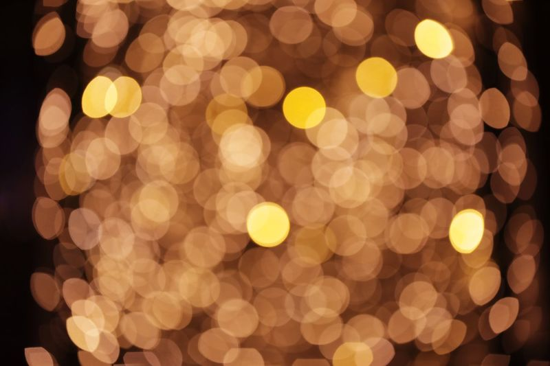 Lost in a space of lights Illuminated Defocused Circle Christmas Night Geometric Shape Backgrounds Shape Decoration Pattern Holiday No People Christmas Lights Abstract Celebration Light - Natural Phenomenon Glowing Christmas Decoration Lens Flare Lighting Equipment