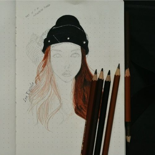 Work in progress inspired by Ladiiprang Illustration Art Drawing fabercastell dailyjournal