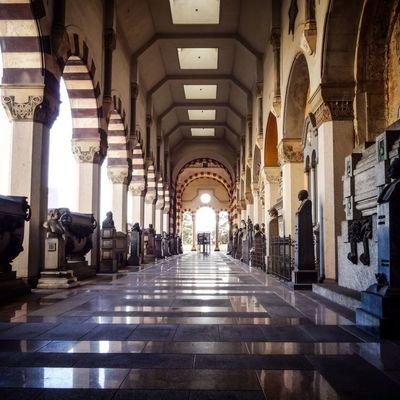 Inside Monumental Cemetery NEM Architecture NEM Street AMPt - Street NEM Memories