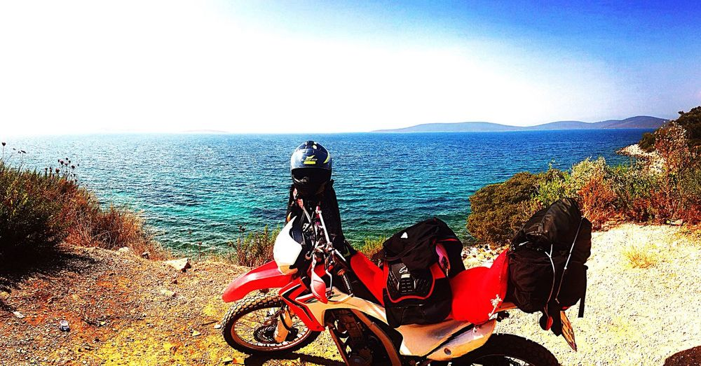 Bodrum #holiday #sailing Motorcycles Red Bicycle First Eyeem Photo