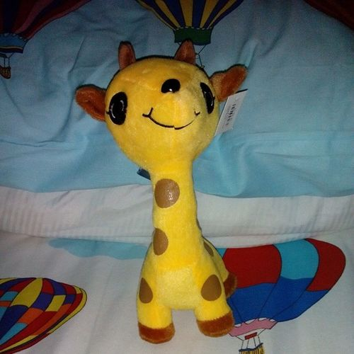 Thank you, Ming! AdvanceBirthdayGift Sapilitan Cute Stufftoy giraffe love blessed