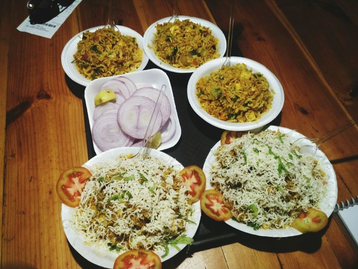 EyeEm Selects Food Indoors  Food And Drink High Angle View No People Ready-to-eat Pulav Indianfood Veg