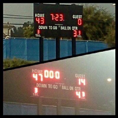 we won both games!<3 :D Football 52 & 84 ^-^ <3