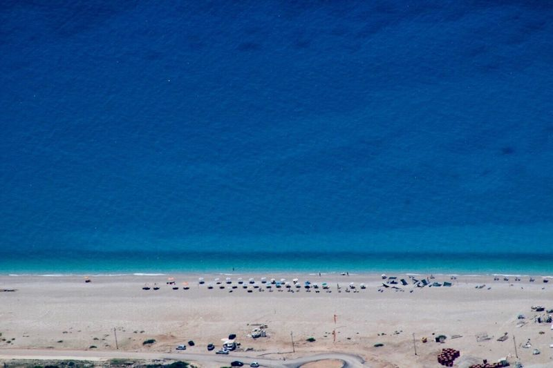 Beach Sand Blue