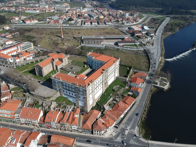 Mosteiro de Santa Clara - Vila do Conde, Portugal DJI X Eyeem Aerial View Architecture Beauty In Nature Building Exterior Built Structure City Cityscape Day Dji Spark High Angle View Nature No People Outdoors Residential  Residential Building Roof Sky Town Tree Vila Do Conde