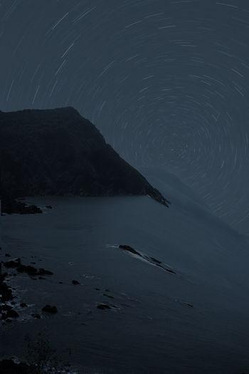 night photo of