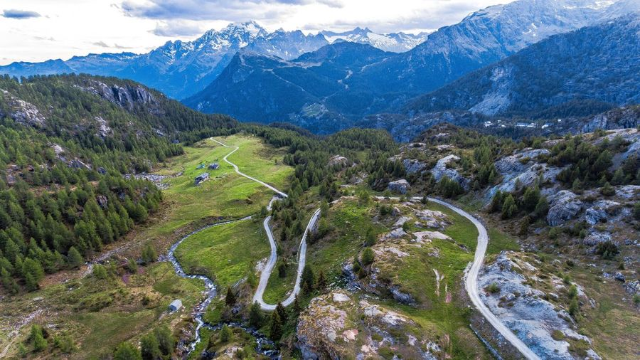 Fly Drone  Nature Beauty In Nature Scenics Mountain Travel Alps Italy Alps Dronephotography EyeEm Nature Lover EyeEm Best Shots Aerial Shot Landscape Drone Dji Aerial View Winter Mountain Peak Cloud - Sky Dronography Droneoftheday Dronegear No People Outdoors EyeEmNewHere Lost In The Landscape