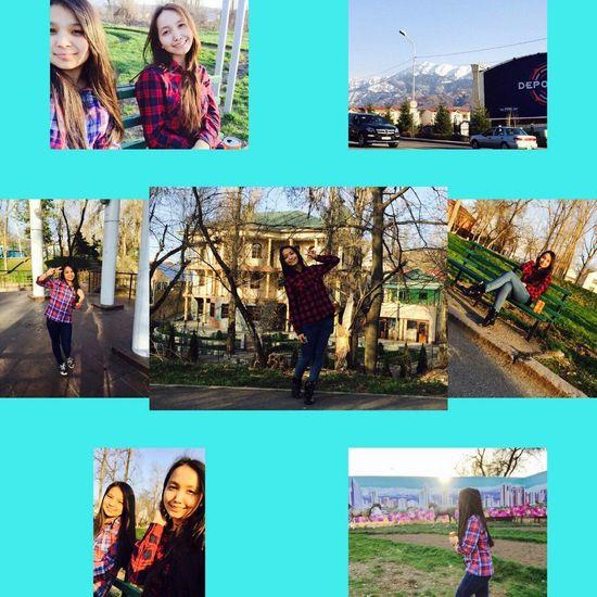 Street Fashion Traveling That's Me Enjoying Life Good Cheer Relaxing Walking Around My Friend Hello World Almaty