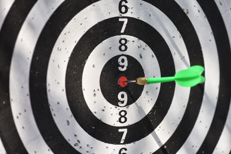 target with arrow. Goal achieve concept. Archery Qatar Doha Sport Competition Scoring Skill  Arrow - Bow And Arrow Sports Target Competitive Sport Practicing Perfection Accuracy Archery Arrow Target Shooting Shooting A Weapon Aiming Hunter Hunting
