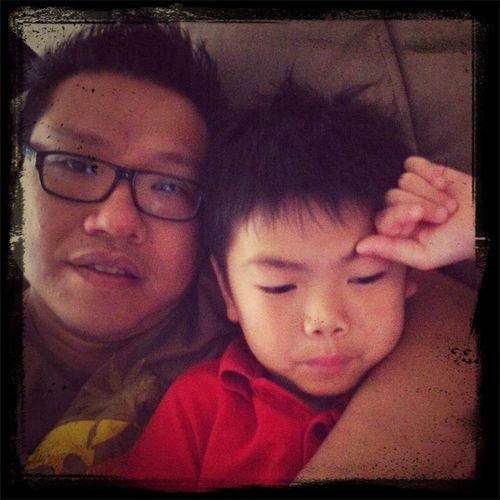 Loving My Morning Cuddle With My Son