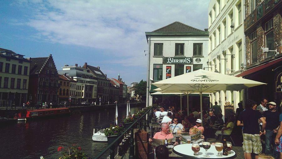 Beer Pub River People