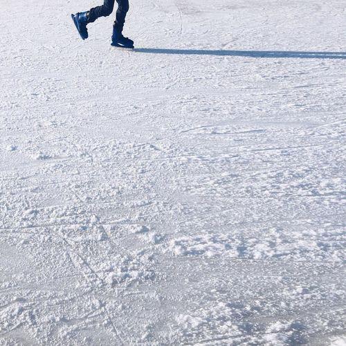 winter playground Carefree Cold Temperature Frozen Fun Girl Joy Playground Shadowplay Snow