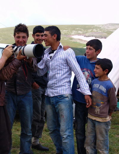 Kurdish NOMAD Türkiye Turkey Adult Boys Casual Clothing Cheerful Day Leisure Activity Men Nature Outdoors People Politics Smiling Standing Togetherness Volunteer Young Adult Young Men Young Women The Week On EyeEm