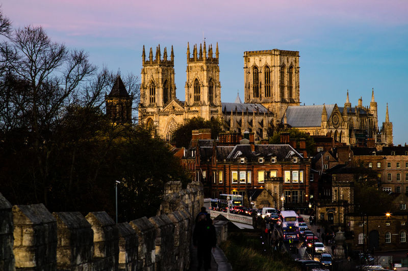 Cathedral York York Minster  Yorkshire Architecture Building Exterior Built Structure City Day England Minster Nature No People Outdoors Sky Travel Destinations Tree Uk