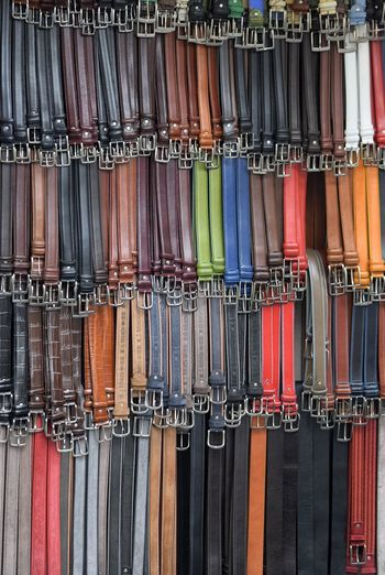 Belt  Full Frame Backgrounds For Sale Variation No People Multi Colored Day Close-up Outdoors Leather Street Market Central Market The Best City In The World Florence, Italy Florence Ponte Vecchio Visit Italy Colours For Sale Difference  Retail  Market Stall Marketplace Quality