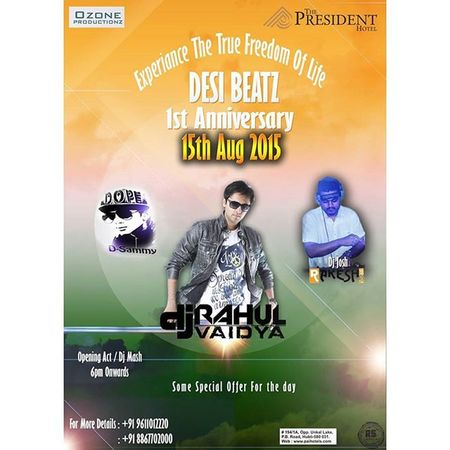 15th aug 2015 performing live at the president, hubli. 15th August Independence Day Celebration Party Tagsforlikes @top.tags Toptags Djrahulvaidya India Love Instagram Instagood Me Followme Instalove Hubli