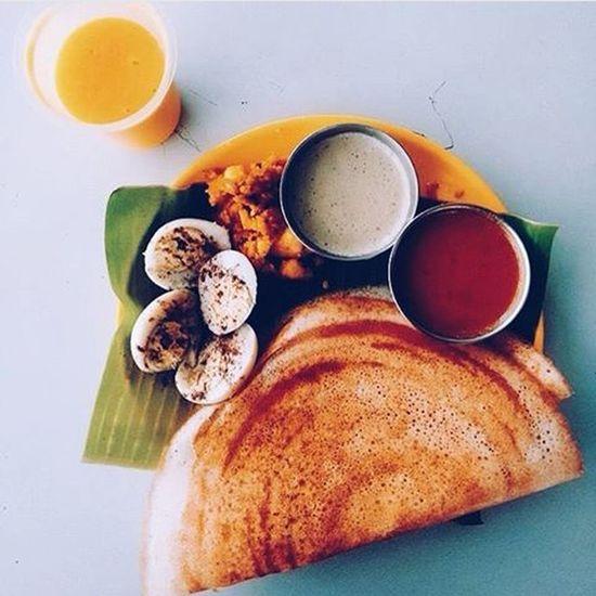 Street Food Worldwide Hanging Out Taking Photos Colombo Sri Lanka Breakfast Thosai