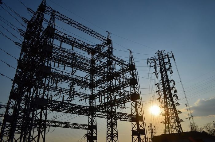 Good morning. Sky_collection Sun_collection Steel TowerLC Silhouette
