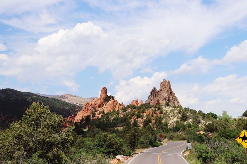 When beauty like this is spotted, you just want to live for eternity Mountains Beauty Mountains Beauty Cloud - Sky Sky Plant Tree Mountain Beauty In Nature Scenics - Nature Nature Day Non-urban Scene Tranquility Environment Tranquil Scene Road Landscape Growth Remote Rock Formation No People Rock
