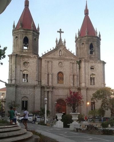 Dear God, I wanna take a minute, not to ask for anything from you. But simply to say THANK YOU, for all that you gave me. IloiloCity Iloilochurch Molochurchiloilo Philippines Thanksgod Goodevening