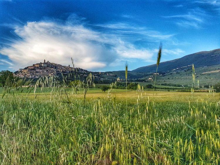 Trevi, Umbria, Italy, hilltop