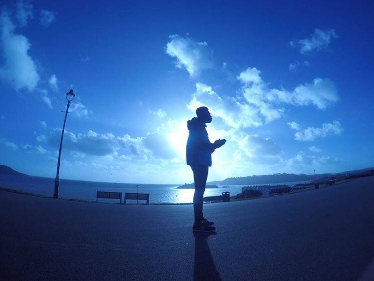 Shot of origamik https://m.soundcloud.com/oragamik Hanging Out Taking Photos Enjoying Life Standing 90skid Fashion Lifestyles Life Chilling Nofilternoedit Beach Sunset Nofilter Beachphotography Solitude Sky Relaxing Origamik Plymouth Hoe Plymouth Uni Student Life Producer Musician 3000k Goprohero4