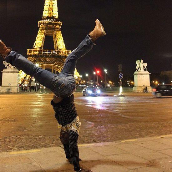 parisPsycho Position Jenselter Style streeteiffeltower