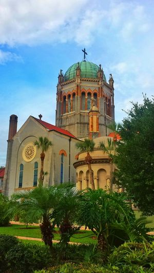 Take Me To Church Check This Out Taking Photos No Location Needed Clouds And Sky Architecture the beautiful Presbyterian Church in Saint Augustine.
