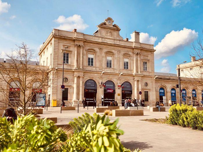 Reims, la gare