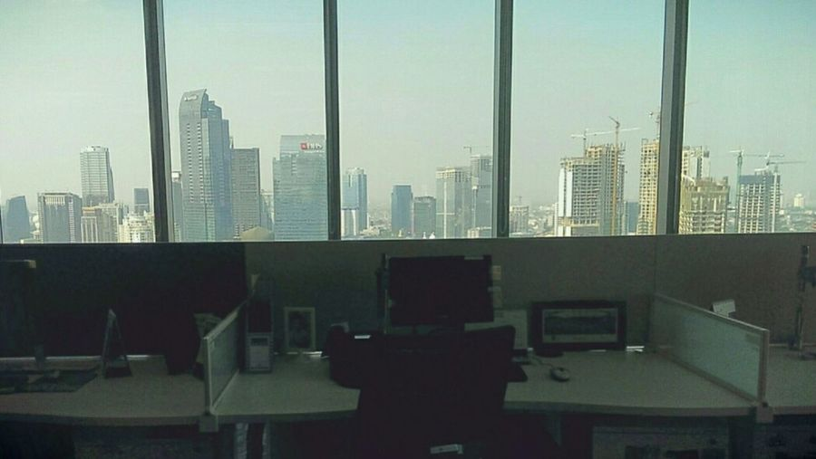 Jakarta pagi ini Jakartaselamanya Cityscape