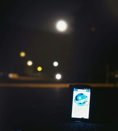 Alone phone.