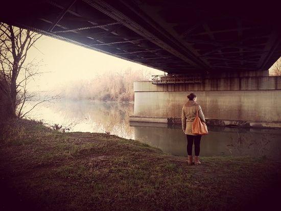 Underthebridge Bridge Cold Coldwinter Wintertime River Riverside Nostalgic  Nostalgia Kőrös Gyomaendrőd Hungary Hungary I <3 You