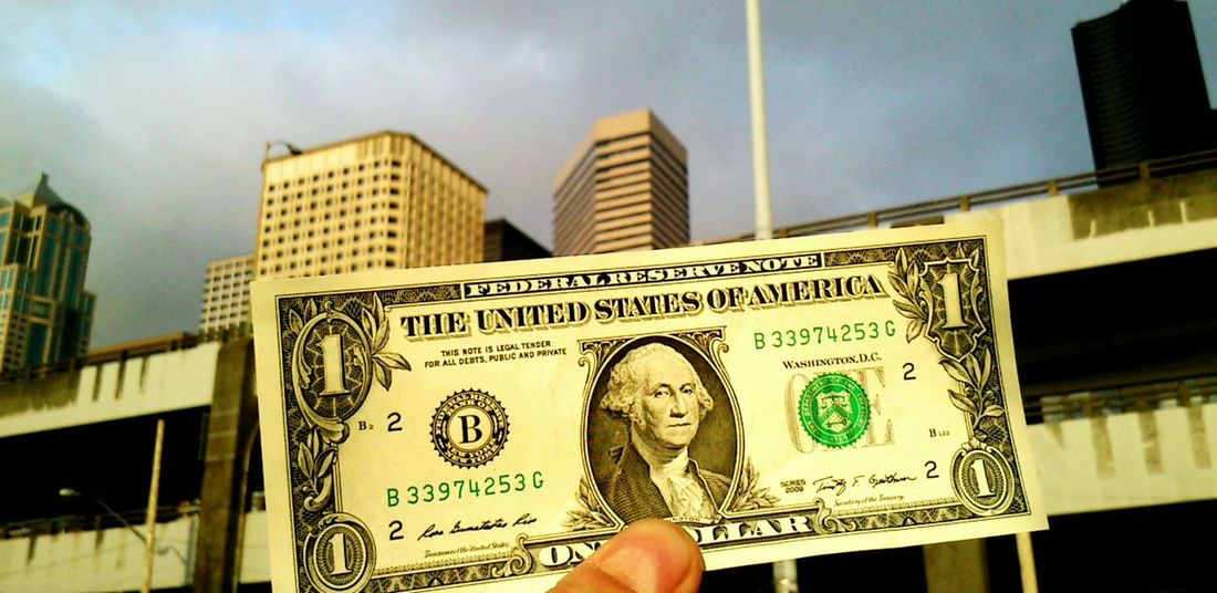 City Building Exterior Finance Architecture Built Structure Human Body Part Outdoors Human Hand Close-up Downtown District Skyscraper Sky Day People Dolar$ USA Dolar
