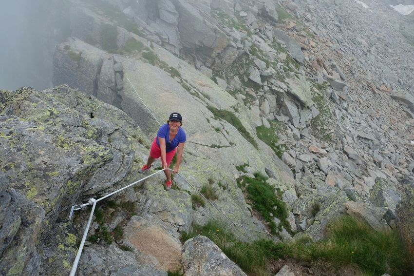 Summer Sports Climbing Headwear Extreme Sports Climbing Rope Mountain Full Length Rock Face Men Uphill Adventure