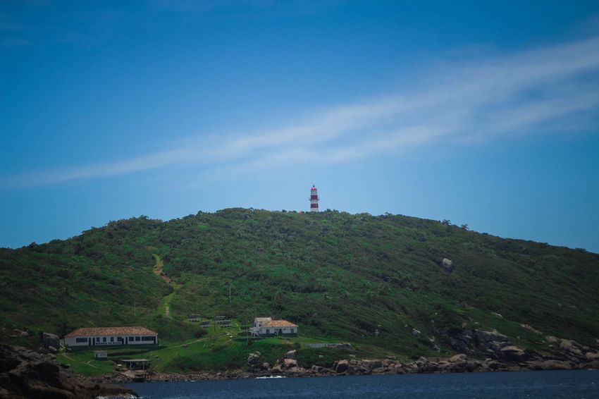 Guiding Beauty In Nature Day Landscape Lighthouse Nature No People Non-urban Scene Outdoors Scenics Sky Tranquil Scene