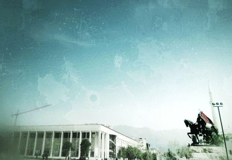 TRIUMPH Skanderbeg Square Victory Tree Sky Cloud - Sky