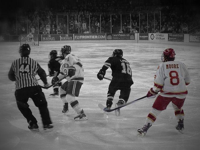 My 1st Hockey Game ... Denver 2014