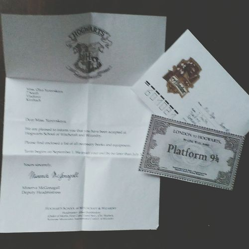 Harry Potter ⚡ I'm Not A Muggle Letter