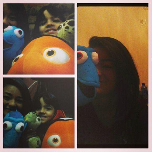 Queria o Nemo gigante,mas amo a Dory ? Sis