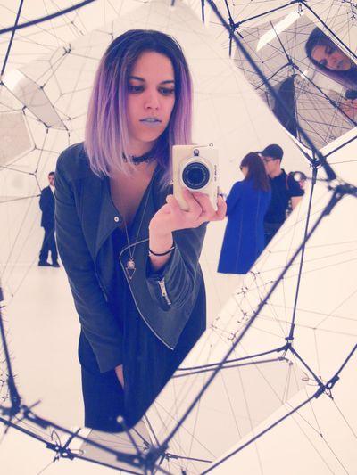 MoMA Selfie ✌ Moma Purple Hair