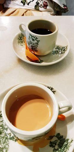 coffee or tea? Herbal Tea City Drink Tea - Hot Drink Teapot Saucer Healthy Lifestyle Coffee - Drink Teabag Table Afternoon Tea Tea Cup Teaspoon Black Coffee
