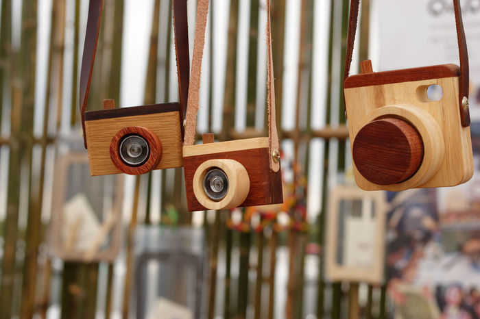 Camera Toy Camera Lensses  Toy Cameras Wood - Material Wooden Wooden Camera Wooden Toys