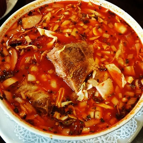 Pozole Soup Pork Food Mexicanfood